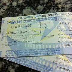 Photo taken at Súper Cines La Cascada by Carlos N. on 5/23/2014