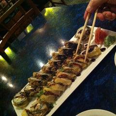 Photo taken at Kanki Japanese House of Steaks & Sushi by Eugenia K. on 4/6/2013