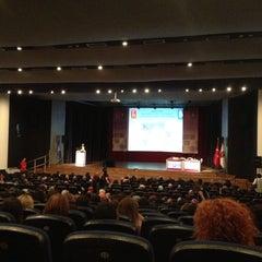 Photo taken at Hacettepe Üniversitesi Kültür Merkezi M Salonu by Nildem K. on 6/27/2013