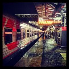 Photo taken at Ж/Д вокзал Казань-1 / Kazan Train Station by Milan B. on 7/25/2013