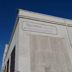 Photo taken at Rosenblum Cellars by Wired T. on 1/19/2013