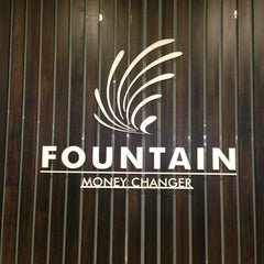 Photo taken at Fountain Money Changer by Fairlady Z Y. on 7/23/2013