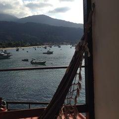 Photo taken at Che Lagarto Hostel Ilha Grande by Douglas A. on 6/4/2014