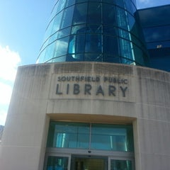 Photo taken at Southfield Public Library by Troy M. on 1/17/2013