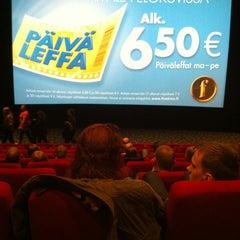 Photo taken at Finnkino Plevna by Pasi J. on 1/28/2013