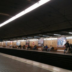 Photo taken at Metrovalencia Pl. Espanya by Rubén G. on 12/5/2014