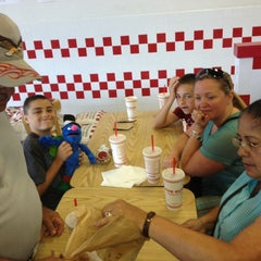 Photo taken at Five Guys by Rich L. on 4/5/2014