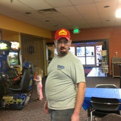 Photo taken at Bowlero Lanes by Felicia M. on 1/17/2013