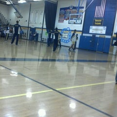Photo taken at Owosso High School by Kevin Michael F. on 1/17/2012