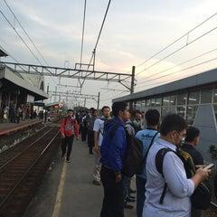 Photo taken at Stasiun Cilebut by Agus W. on 4/12/2016