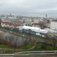 Photo taken at Ibis Budget Porte de Montmartre by Alexey S. on 12/22/2014