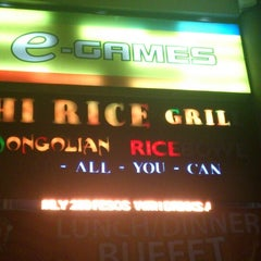 Photo taken at Hi Rice! Mongolian Restaurant Grill by Joyce A. on 3/16/2014