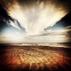Photo taken at Beach by Bio M. on 2/28/2013