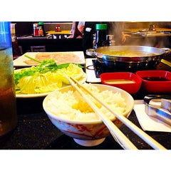 Photo taken at Tokyo Shabu Shabu by Mike S. on 9/3/2014