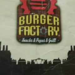 Photo taken at Burger Factory by sofi g. on 6/19/2014