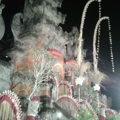 Photo taken at Panggung Terbuka Balai Budaya Gianyar by Mangde T. on 4/15/2013