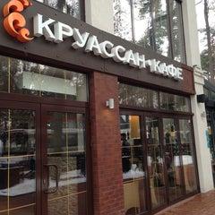 Photo taken at Круассан-кафе by Margarita C. on 3/31/2013