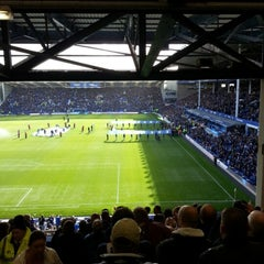 Photo taken at Goodison Park by Dave P. on 9/29/2012