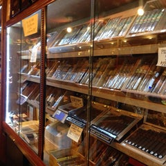 Photo taken at Churchill's Cigar Lounge by princeofwine on 2/22/2014