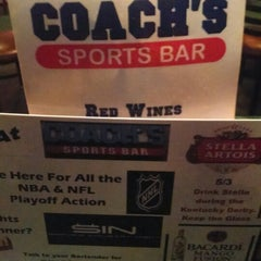 Photo taken at Coach's Bar & Grill by James S. on 5/31/2014