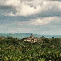 Photo taken at Plataran Borobudur Resort & Spa by Ferry W. on 1/1/2016
