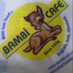 Photo taken at Bambi Cafe by ÖZGÜR T. on 1/19/2013