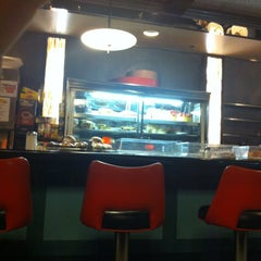 Photo taken at Pop City Diner by NEZ N. on 2/11/2013