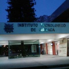Photo taken at Instituto Tecnológico de Oaxaca by Paola Z. on 2/23/2013