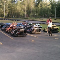 Photo taken at Weirs Go Karts & Bumper Boats by Jim D. on 7/24/2012