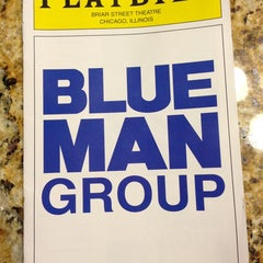 Photo taken at Blue Man Group at the Briar Street Theatre by Hollie K. on 7/7/2013