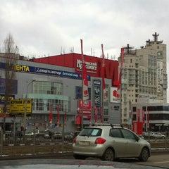 Photo taken at ТРЦ «Московский проспект» by Танюшка Д. on 3/2/2013