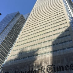 Photo taken at New York Times Building by Ryan Y. on 4/23/2016