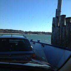 Photo taken at Shelter Island South Ferry - Shelter Island Terminal by Ellen J. on 2/21/2013