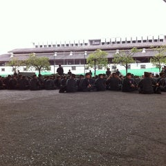 Photo taken at โรงเรียนรักษาดินแดน (Territorial Defense School) by Vivi C. on 11/23/2012