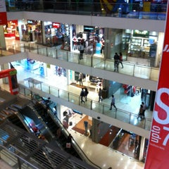 Photo taken at Oberoi Mall by Kenneth T. on 1/21/2013