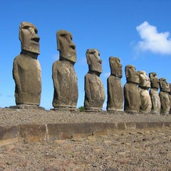 Photo taken at Isla de Pascua | Rapa Nui by Martín F. on 7/24/2013