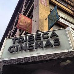 Photo taken at Tribeca Cinemas by Alec P. on 10/19/2012