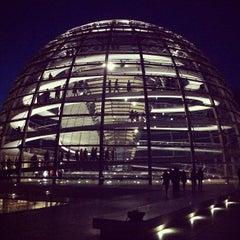 Photo taken at Reichstag by João R. on 5/1/2013