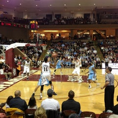 Photo taken at TD Arena, College of Charleston by Chris Y. on 1/25/2013
