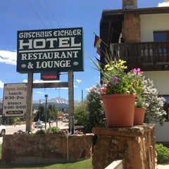 Photo taken at Gasthaus Eichler (Winter Park, CO) by Stephen M. on 6/26/2013