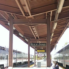 Photo taken at San Jose Diridon Caltrain & Amtrak Station by Rachel L. on 7/26/2013