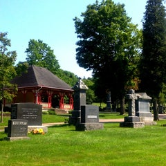 Photo taken at Fern Hill Cemetery by Karen J M. on 6/28/2014