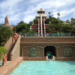Photo taken at Siam Park by Katerina S. on 5/19/2013