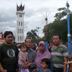 Photo taken at Jam Gadang by Jaka R. on 8/15/2013