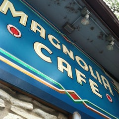Photo taken at Magnolia Cafe by Nicole c. on 5/12/2013