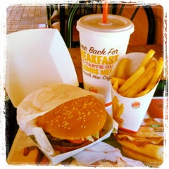 Photo taken at Burger King® by Zach S. on 3/9/2013