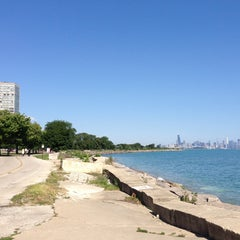 Photo taken at Chicago's Lakefront (Hyde Park) by Donna G. on 8/17/2013