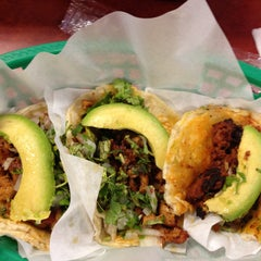 Photo taken at Taquería Los Comales 3 by Katherine S. on 5/4/2013