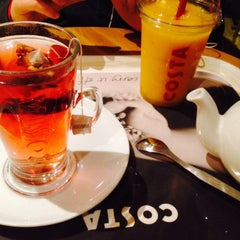 Photo taken at Costa Coffee by Yasemin H. on 1/2/2015