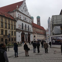 Photo taken at München by Hamoud A. on 4/21/2013